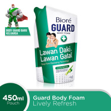 BIORE Body Foam Lively Refresh Pouch 450 ml