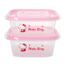 LOCK & LOCK Hello Kitty Apple E-Z Lock 610ml (isi 2 pcs) LKT809