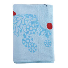 KUMA KUMA Handuk Mandi  Happy Day Elephant Flower 70x140 cm - Blue