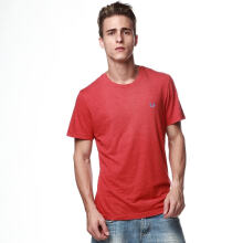 Authentic Fred Perry Men Red Crew Neck T shirt L