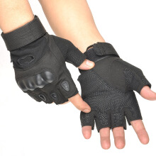 SiYing Men's Special Forces Mechanical Tactics Half Finger Special Gloves