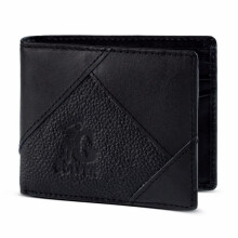 GOLFER - MEN WALLET DOMPET KASUAL PRIA - GF.1408 - BLACK