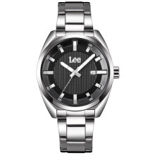 Lee Watch LEF-M13DSDS-1S Jam tangan pria Silver