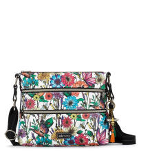 Sakroots Basic Crossbody Sling Bag Optic In Bloom