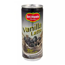 DEL MONTE Coffe Vanilla Latte 240ml