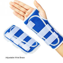 Jantens Breathable Wrist Brace Hand Support Fracture Ligament Injury Arm Protection Strap Blue M