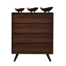 OSCAR LIVING Graver Drawers Noix Series TB 315 Brown