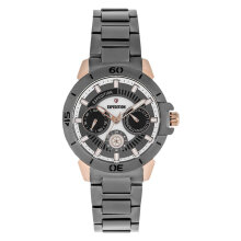 Expedition E 6758 BF BGRDG Ladies Grey Dial Grey Stainless Steel Strap [EXF-6758-BFBGRDG]