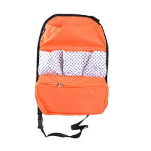 JMS - 1 Pcs Car Seat Organizer / Tas Mobil Multifungsi Model 41301BGABBKA Warna Orange