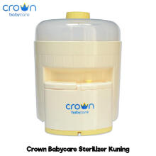 Bebikita Crown Electric Steam Sterilizer Isi 6 Botol - Kuning