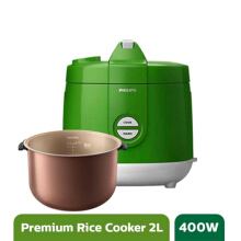 Philips Rice Cooker - HD3129/30 Premium Green