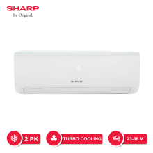 SHARP AC 2 PK - AH-A18UCY [Indoor + Outdoor Unit Only]