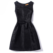 SESIBI S~2XL Women Summer Pure Color Casual Dresses Girls Princess Dress Office Lady Mini Sheath Dress -Black -