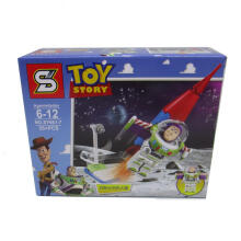 Sy Bricks 661 7 Toys Story Green