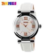 SKMEI Jam Tangan Wanita Casual Ladies Leather Strap Original 9075CL