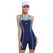 SBART Quick Drying Modest Blue Swimwear Women Swimsuits One Pieces Backless Female Swimming Bodysuits Bathing Suits