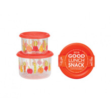 Sugar Booger Good Lunch Snack Containers Small Set of Two - My Garden
