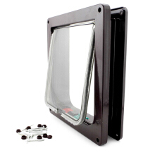 AOSEN Kimpets Lockable Dog Cat Security Flap Door