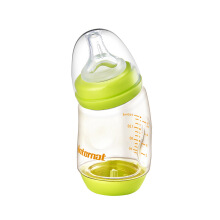Keness Tilted PPSU bottle wide diameter 160mL 45 degree feeding baby bottle