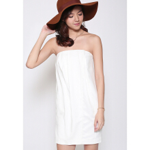 Kivy Tube Dress - White