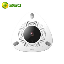 360 D688 Home Security Smart Camera CCTV 1080p Full HD White
