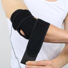 SBART Elbow Sleeves Weight Lifting Powerlifting Workout Fitness Basketball Arm Brace Pads Support Black One Size