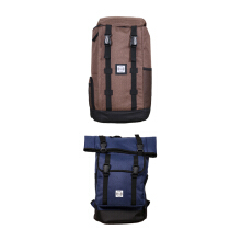 Bundling The X Woof Backpack Tpack-H Brown & Tpack-M 1.0 Dark Blue Dark Blue