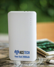 Acetech Powerbank - Powerbank 20000mAh - Power bank 20000mAh AC-PB-20000-B