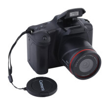 [OUTAD] Portable HD Digital Medium/Long Focus SLR Camera Anti-Shake DV Camcorder Black