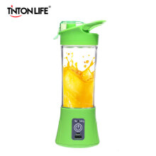 TINTON LIFE USB Charging Mode Portable Charging Treasure Function Small Juicer Blender Green