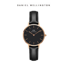 Daniel Wellington Petite Leather Watch Sheffield Black Black 28mm