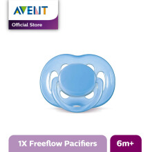AVENT SCF178/14 Soother 6-18m Single Free Flow - Blue