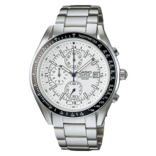 Casio Edifice EF-503D-7AVUDF White Dial Stainless Steel Strap [EF-503D-7AVUDF]