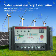 EELIC SCC-I1024 SOLAR CHARGE CONTROLLER PANEL BATTERY REGULATOR 12V/24V Black