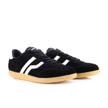 PIERO SNEAKERS  LONDON PREMIUM - BLACK/GUM