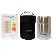 Crown Easy Travel Food and Soup Thermos 600ml