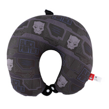 MARVEL Avengers Neck Pillow Black Panther - Black