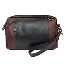SiYing Imported original Trend men's bag shoulder bag men's Messenger bag clutch bag Brown