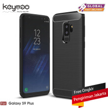 Keymao Samsung Galaxy S9 Plus case Soft TPU Silicon Full Protect Cover Case Black