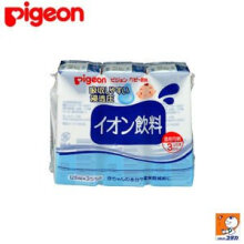 PIGEON baby drink/electrolytic water beverage 1 month +125ML*3 (4 packets)