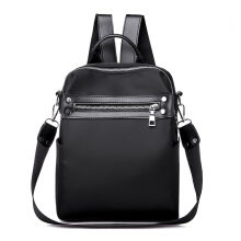 Wei's Women's Choice Fashion Backpack PU Waterproof Backpack Shoulder Bag B-NVBM6923 Black