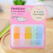 RADYSA Sticky Notes Stick Marker / Pembatas Buku Mini - RANDOM Berwarna Others