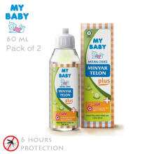 My Baby Minyak Telon Plus 60 ml (2 Pcs)