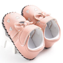 TOWER PRO Baby Toddler Shoes Cute Soft Sole Pink 11cm