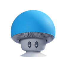 Tmax Wireless Bluetooth Speaker Mushroom Mini Sound Box Cute Cartoon Sucktion Cap Audio Outdoor Portable Bracket