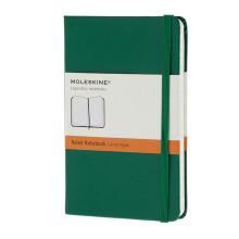 MOLESKINE Notebook Ruled Hard Cover - Oxide Green - Pocket - MM710K1
