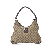 Pre-Owned Gucci GG Canvas Hobo Bag Shoulder