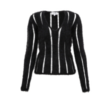 Pre-Owned Saint Laurent Angora Knitted Sweater
