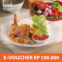 Baso Malang Karapitan - Voucher Value Rp 100.000