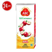 ABC HEINZ Apple Juice Carton 250ml x 24pcs